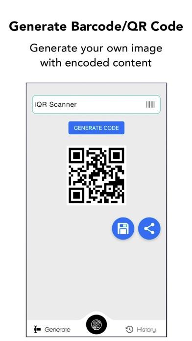 QRコード&バーコードスキャナーのスクリーンショット3
