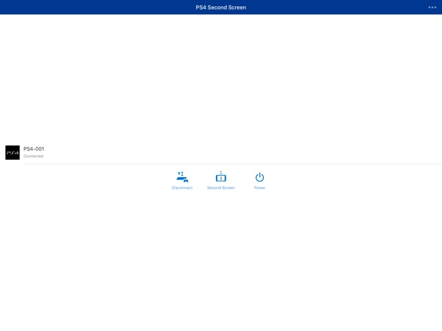 PS4 Second Screen on the App Store