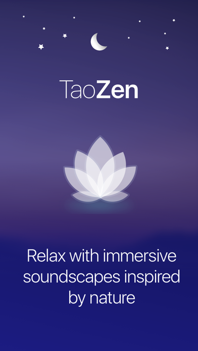 TaoZen - Relax & Sleep Sounds Screenshot