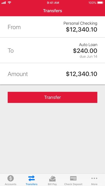 Meritrust CU Mobile Banking screenshot-3