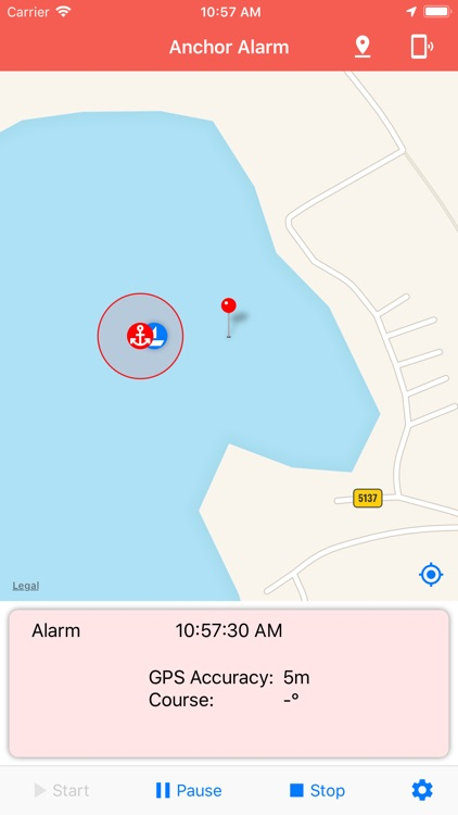 Anchor Alarm / Watch screenshot-3