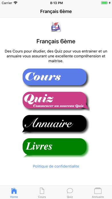 Français 6ème screenshot 1