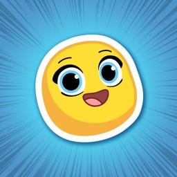 Michi Moji- Fun Emoji Stickers