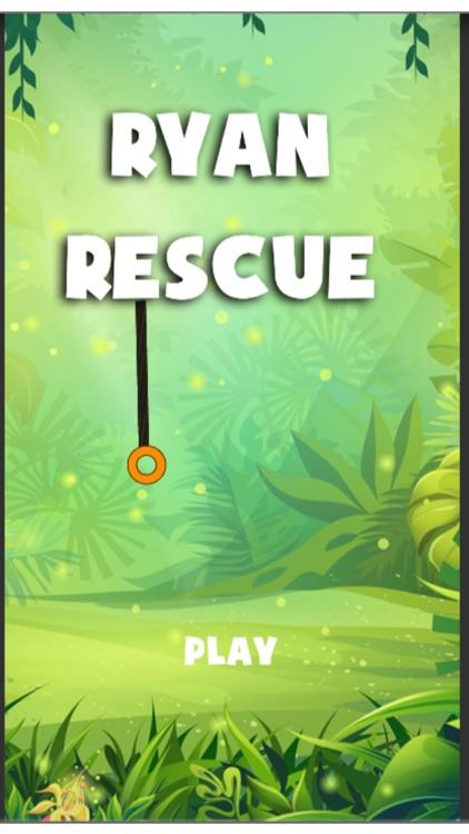 Ryan Rescue Cut : Rope Puzzle