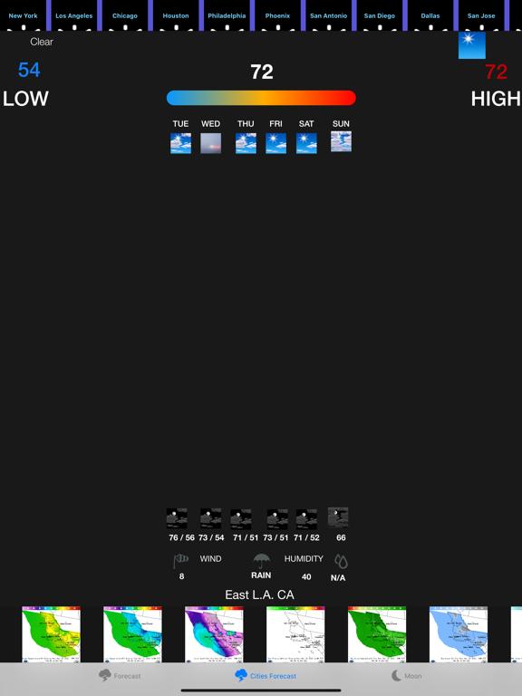 Instant NOAA Weather Forecast screenshot 7