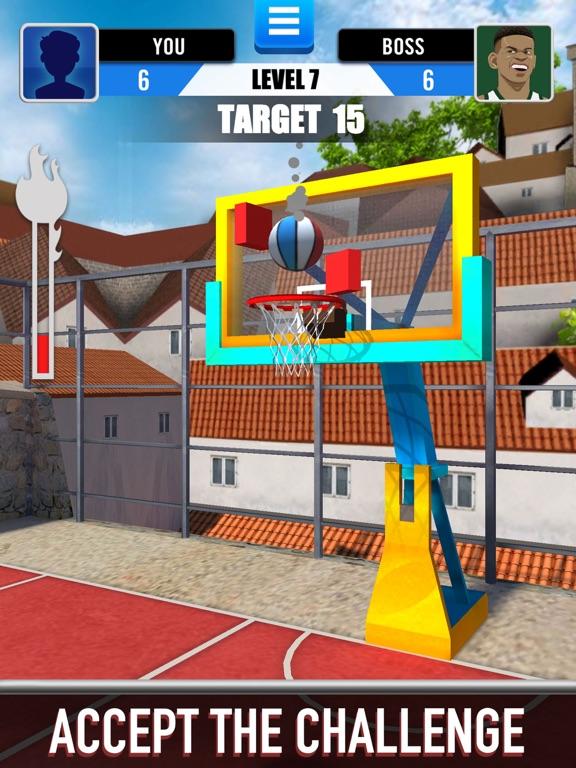 Score King-Basketball Games 3Dのおすすめ画像7
