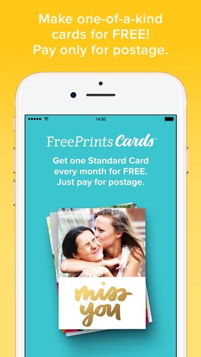 FreePrints Cards – Fast & Easy screenshot one