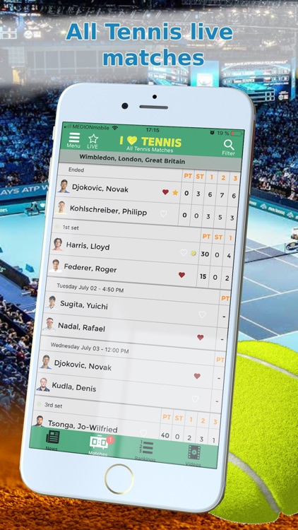 Sports News Tennis edition screenshot-4