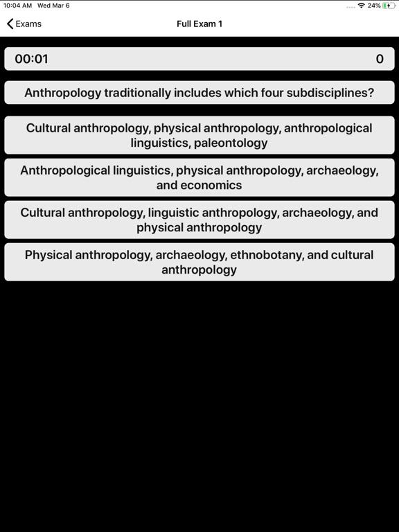 DSST Anthropology Prep screenshot 10