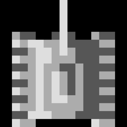 8-bit Console Tank icon