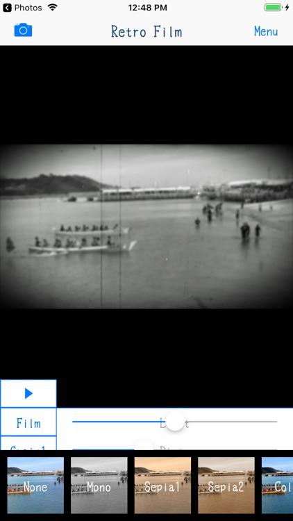 Retro Film - 8mm Video Maker screenshot-3