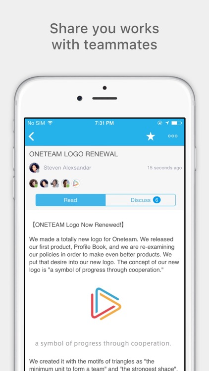 Oneteam - Team Collaboration