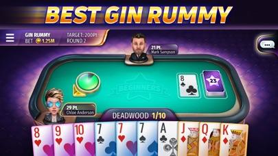 Gin Rummy Stars - Card Game på PC
