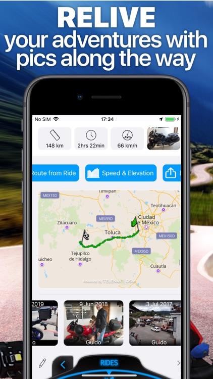 Scenic Motorcycle Navigation screenshot-8