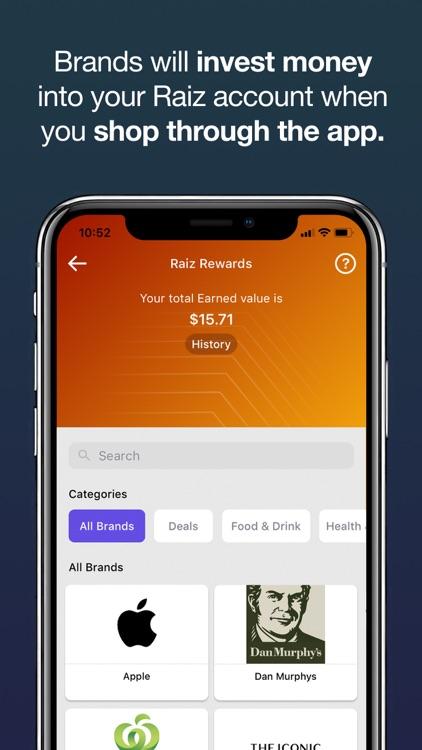 Raiz - Invest The Spare Change screenshot-3