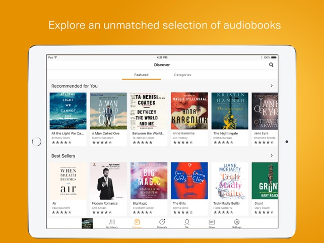itunes store audio books