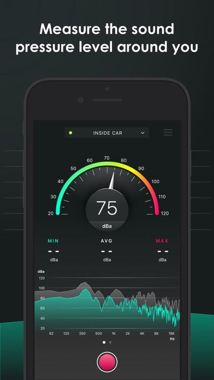 Decibel - sound level meter