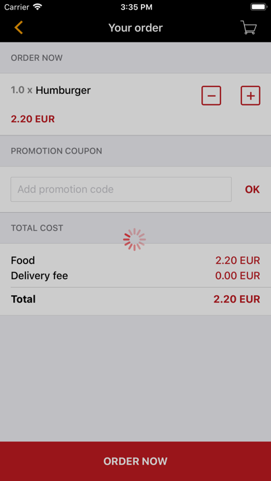 Pizz2Burg screenshot 2