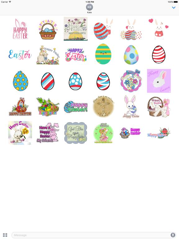 Animated Easter Sticker screenshot 5