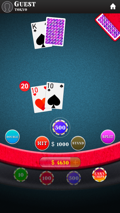 Blackjack: 21 Table app image