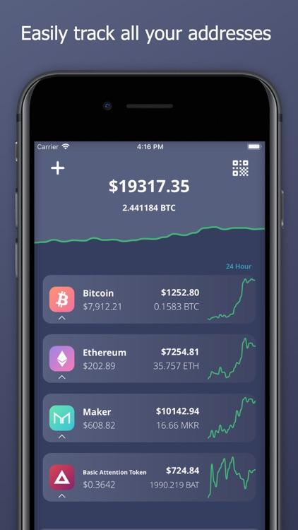 Cold Crypto (Coin Tracker)