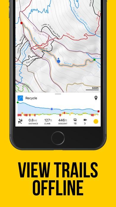 Screenshot for Trailforks - Mountain Bike Map in United Kingdom App Store