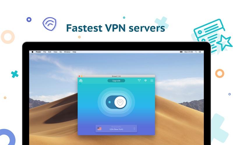VPN Snowd - ВПН прокси скриншот программы 1