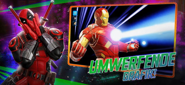 ‎MARVEL Strike Force - RPG Screenshot