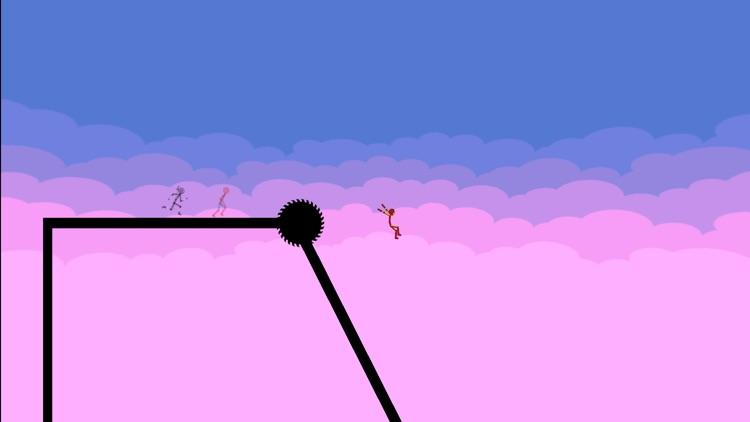 Stickman Parkour - Ninja Race screenshot-6