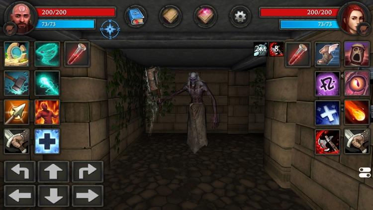 Moonshades RPG Dungeon Crawler screenshot-5
