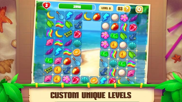 Onet Paradise: match two tiles screenshot-3