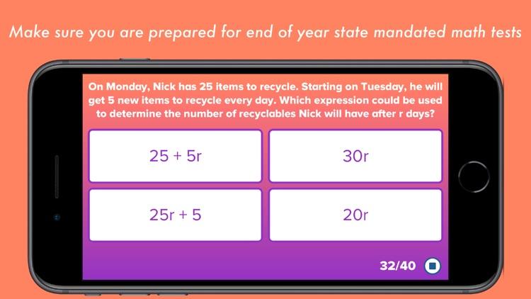 5th Grade Math Testing Prep screenshot-4