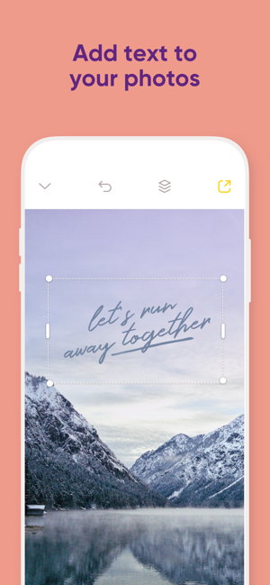 ‎Over: Graphic Design Maker Screenshot