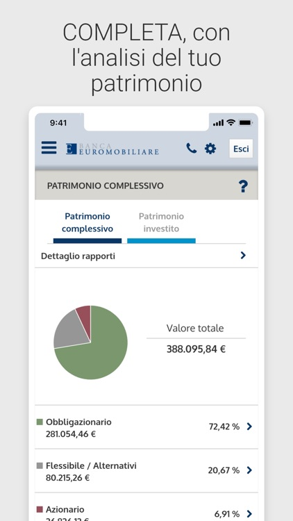 Banca Euromobiliare Mobile screenshot-4