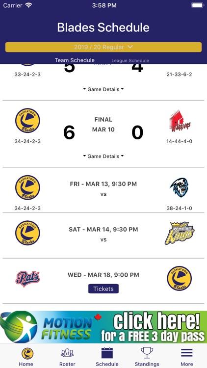 Saskatoon Blades Official App screenshot-3