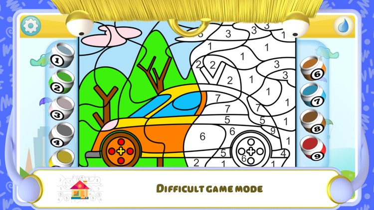 Color by Numbers - Cars screenshot-3