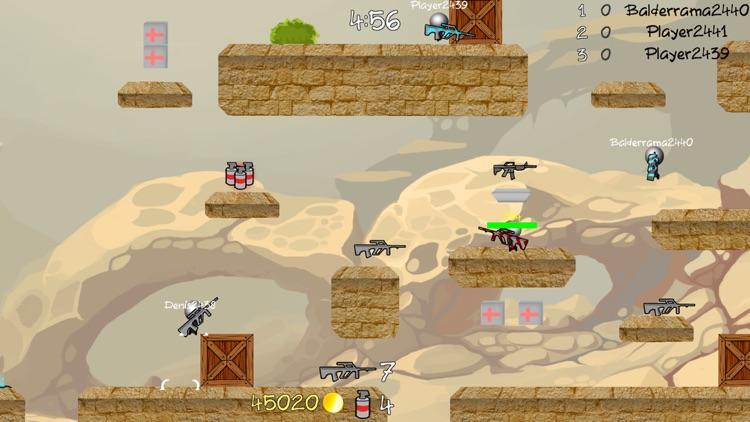 Stickman Multiplayer Shooter screenshot-4