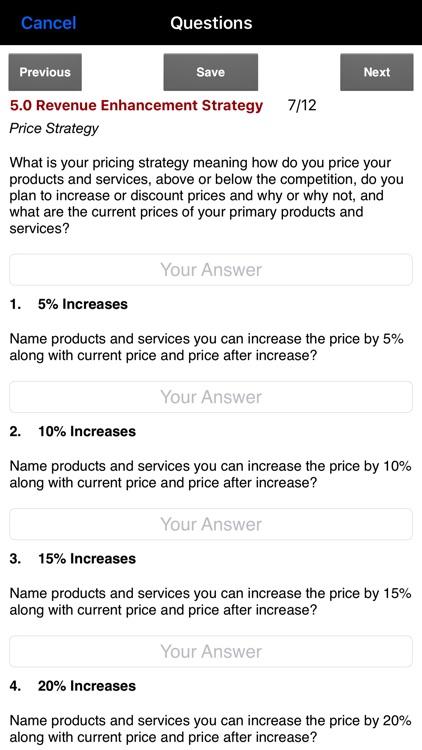 Business Plan Strategies screenshot-3