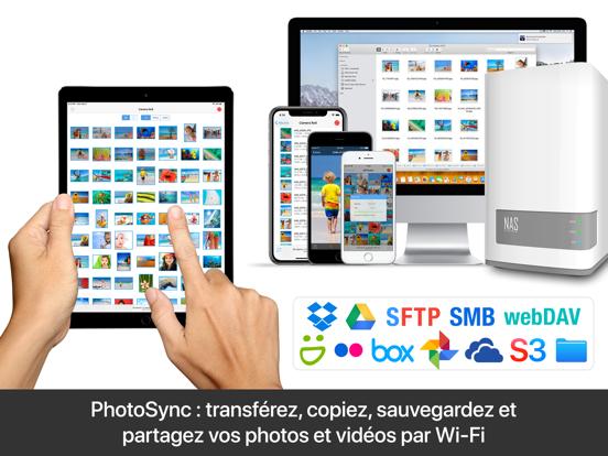 Screenshot #4 pour PhotoSync – transfert photos