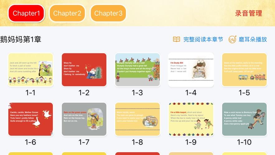 鹅妈妈童谣绘本-英语故事学习(图1)