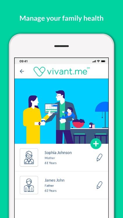 Vivant - Your Vital Companion screenshot-3