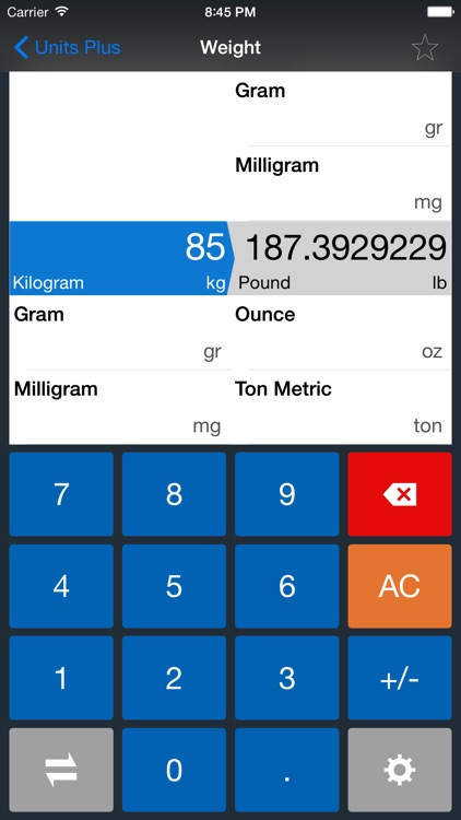 Unit Converter - Best Unit App screenshot-2