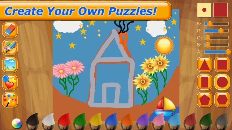 Cars Puzzle Fun Games for Kids screenshot-4