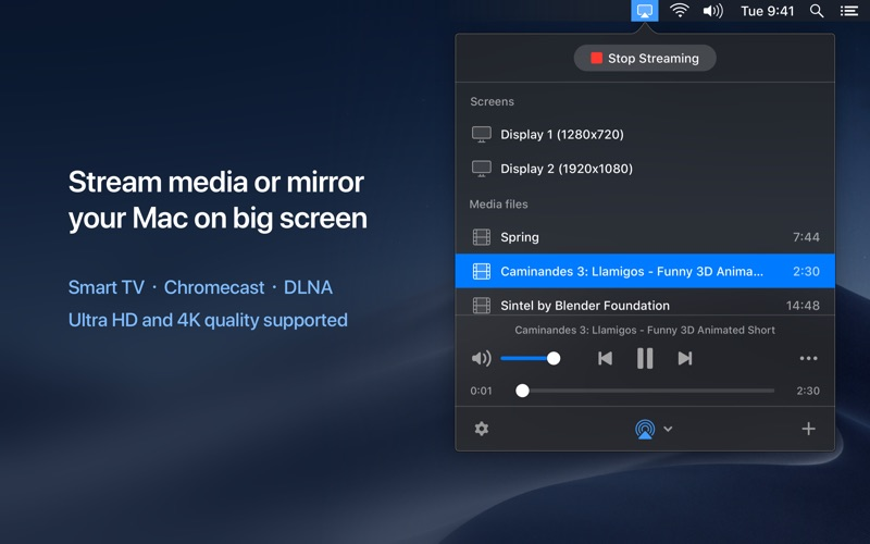 JustStream for Mac