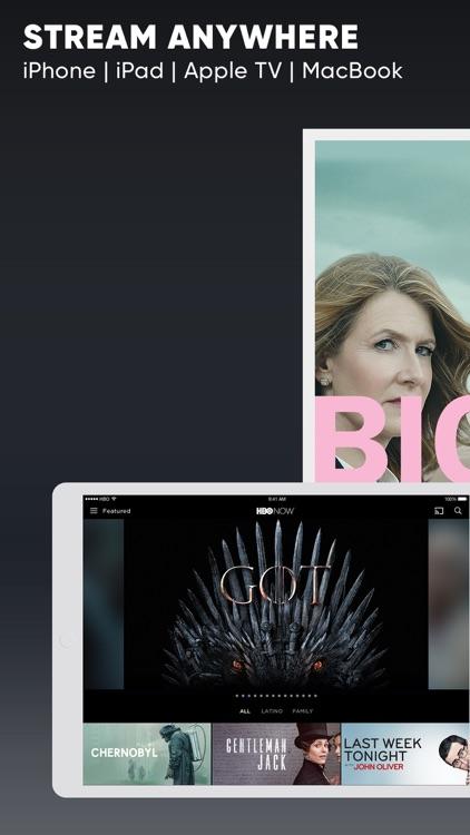 HBO NOW: Stream TV & Movies screenshot-0