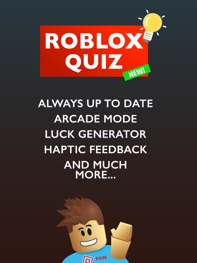 Quiz For Roblox Robux On The App Store - roblox maps with free robux generators