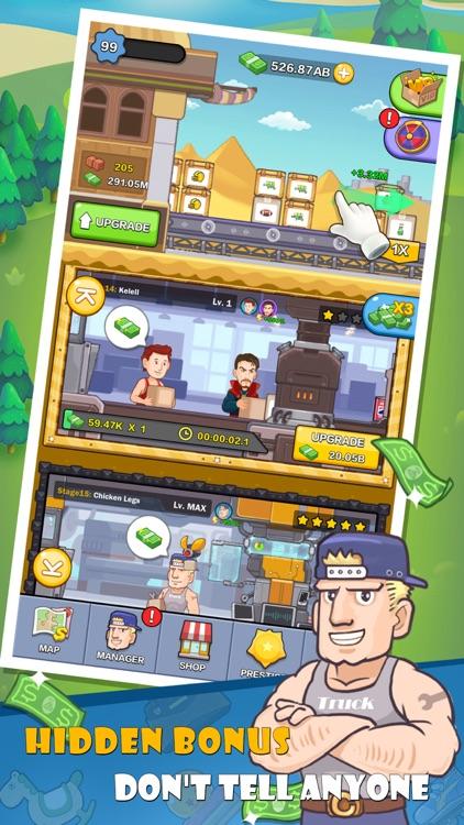 Mega Factory-Idle Game、Tycoon screenshot-3