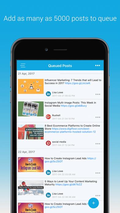 SocialPilot: Social Media Tool screenshot three
