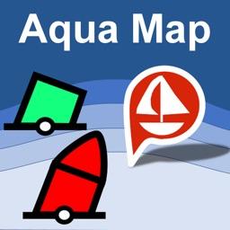 Aqua Map Marine & Lakes GPS