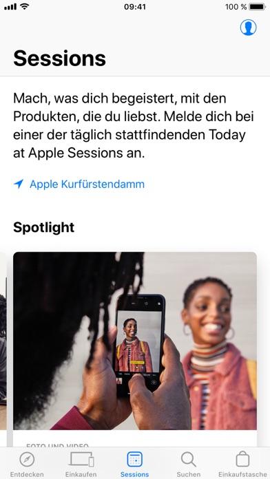 Herunterladen Apple Store für Android